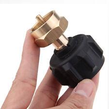 1LB Tank Propane Gas QCC1 Regulator Valve Refill Adapter BBQ Kit Outdoor