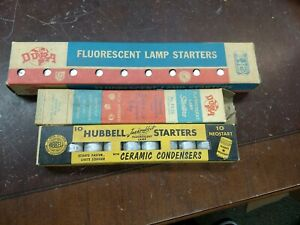 Lot Of 3 Packs Of Fluorescent Lamp Starters A1
