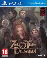 Zero Time Dilemma | PlayStation 4 PS4 New (1)
