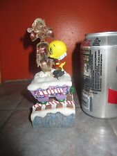 "Danbury Mint "" Tweety'S Chwistmas Twain "" Christmas Train Figurine Looney Tunese"
