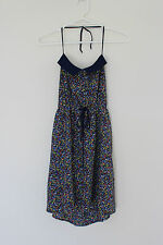 Forever 21 halter neck summer casual mini dress for women size S or 8