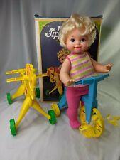 Mattel Tippee Toes Doll Horse Trike Box 1967 Works
