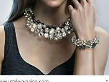 Auténtico Swarovski Maniac Collar