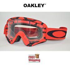 OAKLEY® O-FRAME® GOGGLES MX ATV MOTOCROSS MOTORCYCLE DIRT INTIMIDATOR RED BLACK