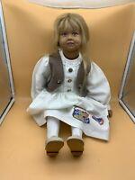 Sigikid Ilse Wippler Vinyl Puppe 63 cm. Top Zustand