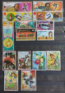 Equatorial Guinea  37 stamp assortment USED