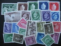 CANADA 24 different MNH official overprinted stamps, nice group check them out!