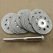 HK- 12 Pcs Rotary Tool Circular Saw Blades Cutting Wheel Discs Mandrel Dremel Ho