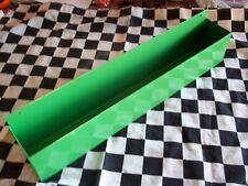 """16"""" Bright Green Workbench Wall Mount Aerosol Spray Can Holder Shop Organizer"""
