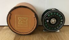 """Very Nice Vintage HARDY """"The Prince"""" 5/6 Fly Fishing Reel w/ Case NR"""