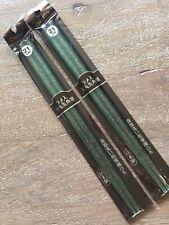 NEW Set of 2 Green Glitter Chopsticks Made-In-JAPAN Dishwasher Safe 21 cm