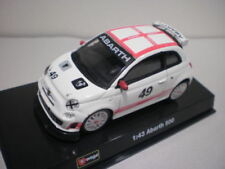 Véhicules miniatures multicolore pour Abarth 1:43