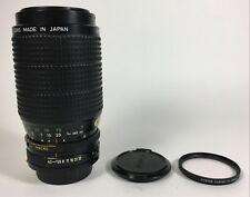 Canon Zoom FD 75-200mm f4.5 lens ex++ condition