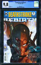 DEATHSTROKE REBIRTH #1 - FIRST PRINT - CGC 9.8 - SOLD OUT - DC COMICS RELAUNCH