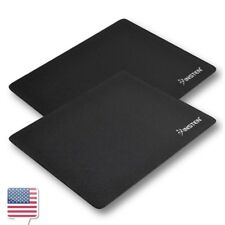 2-Pcs Pack Black Mousepad For Optical Trackball Mouse Mice
