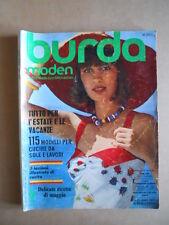 BURDA MODEN - Maggio Mai 1974  [C58A]