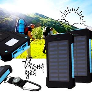 Cargador Solar Portatil Universal Para Celulares Bateria 50000 MAH De Celular US