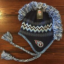 TENNESSEE TITANS NFL Team Apparel Youth Kids Mohawk Knit Hat Cap Beanie NWT