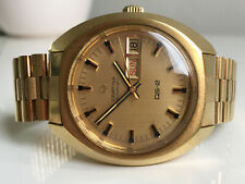CERTINA DS-2 Automatic Day Date 20M Gold *NOS, 1969/1970,  great dial!*