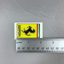 Ferrari OE Small Resin Rectangular Emblem 1 PCS PN 95992899