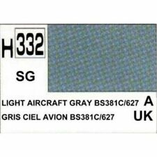 H332 Gris ciel avion satiné BS381C/627 Gunze 10ml