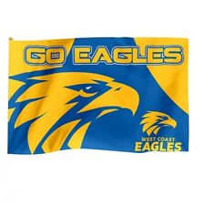 Official AFL West Coast Eagles Game Day Large Flag (NO STICK/FLAG POLE)
