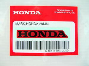 ORIGINAL Honda Aufkleber-Schriftzug S/ROT-5cm-Sticker-Logo-Windscreen-Decal-50mm