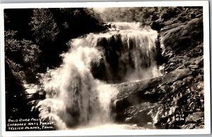 RPPC Bald River Falls, Cherokee National Forest, Tellico Plains TN Postcard U28