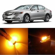 Alla Lighting Rear Signal Light 7440NA Amber LED Bulbs for Acura RLX RSX ~04 TL