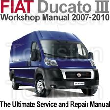 Fiat Ducato 2007 to 2010 (Type 250) Workshop, Service and Repair Manual on CD