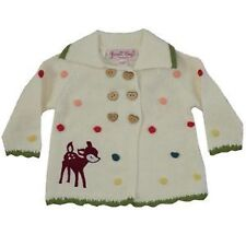 Embroidered Girls' Jumpers and Cardigans 0-24 Months