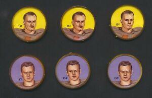 1963Nalley's Short PrintsCFL Football Coins #151-160 U-Pick ChooseSingles