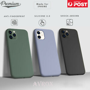 iPhone 11 Case Pro Max SE 7 8 X XR XS Shockproof Silicone Cover Bumper For Apple