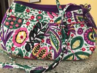 Retired Vera Bradley Viva La Vera Frannie Crossbody Hipster Purse Handbag Bag