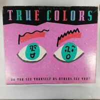 True Colors Board Game Original 1990 Milton Bradley Adult