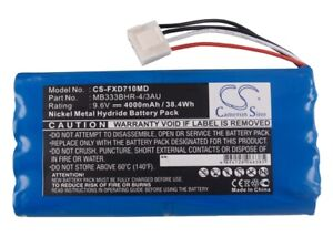 Replacement Battery for Fukuda 9.6v 4000mAh / 38.40Wh Medical Battery