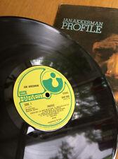 Jan Akkerman Profile Vinyl LP Album 1st Press Harvest EMI label Stereo 1972 VG+