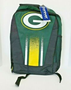 Forever Collectibles Greebay Packers NFL Striped Primetime Backpack