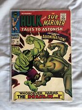 tales to astonish 91 1st Full Appearance Abomination She-hulk Show!!!