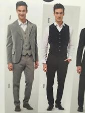 Burda Sewing Pattern 6871 Mens Suit Vest Size 34-50 New
