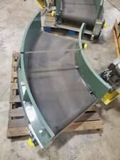 Transnorm 22 Wide 60 Degree Curve Belt Conveyor Ts1500 140 V2 3 Avail