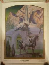 The Lord Of The Rings Poster Citadel At Sunrise Steve Hickman