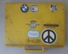Caja de herramientas de plástico-Herramienta de Piezas Moto caso con pegatinas