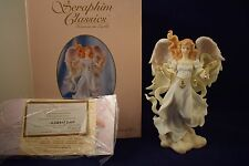 "Seraphim 7.5"" Angel Classics FAITH, HOPE & CHARITY 2383/5000 Roman #84906 (v317)"