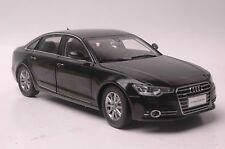 Audi A6L 2012 car model in scale 1:18 black