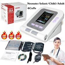 Video di pressione sanguigna CE automatico del braccio digitale 4 polsini Softwa