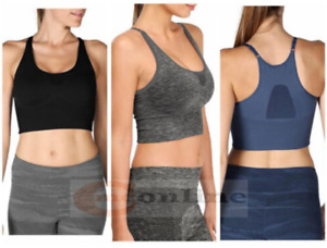 Fittin Sports Yoga Bra Seamless High Impact Support for Workout Fitness Running