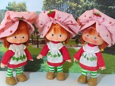 STRAWBERRY SHORTCAKE 1st and 2nd Edition 1979 vintage doll Charlotte Fraises