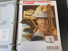 Ingersoll-Rand Mining Machinery Full Line Literature