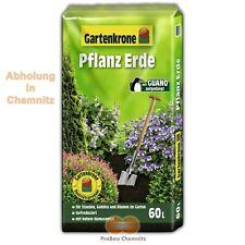 ABHOLUNG: 60 L Gartenkrone Pflanzerde mit Guano Humus Blumenerde Gärtner Dünger